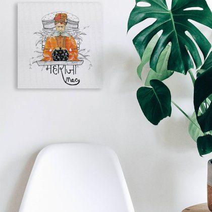 maharaja mac wall art