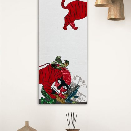 Head and Body Canvas Art