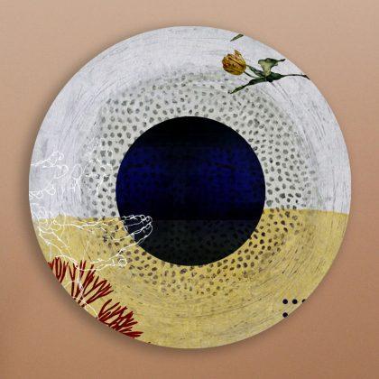 Lemon Round Art