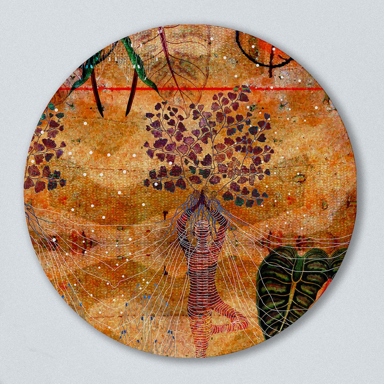 Rust Round Art
