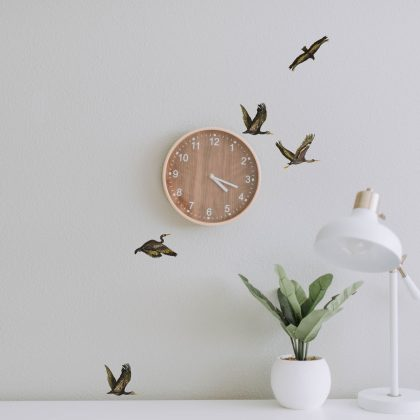 Time Flies Easy Wall Decals