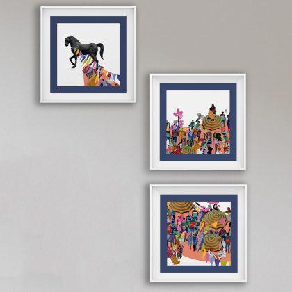 kalagodha wall art set