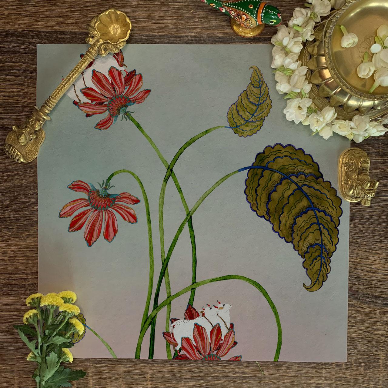 Paste Garden Wallpaper