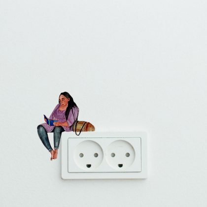 Always On The Edge With Murakami Easy Wall Decals