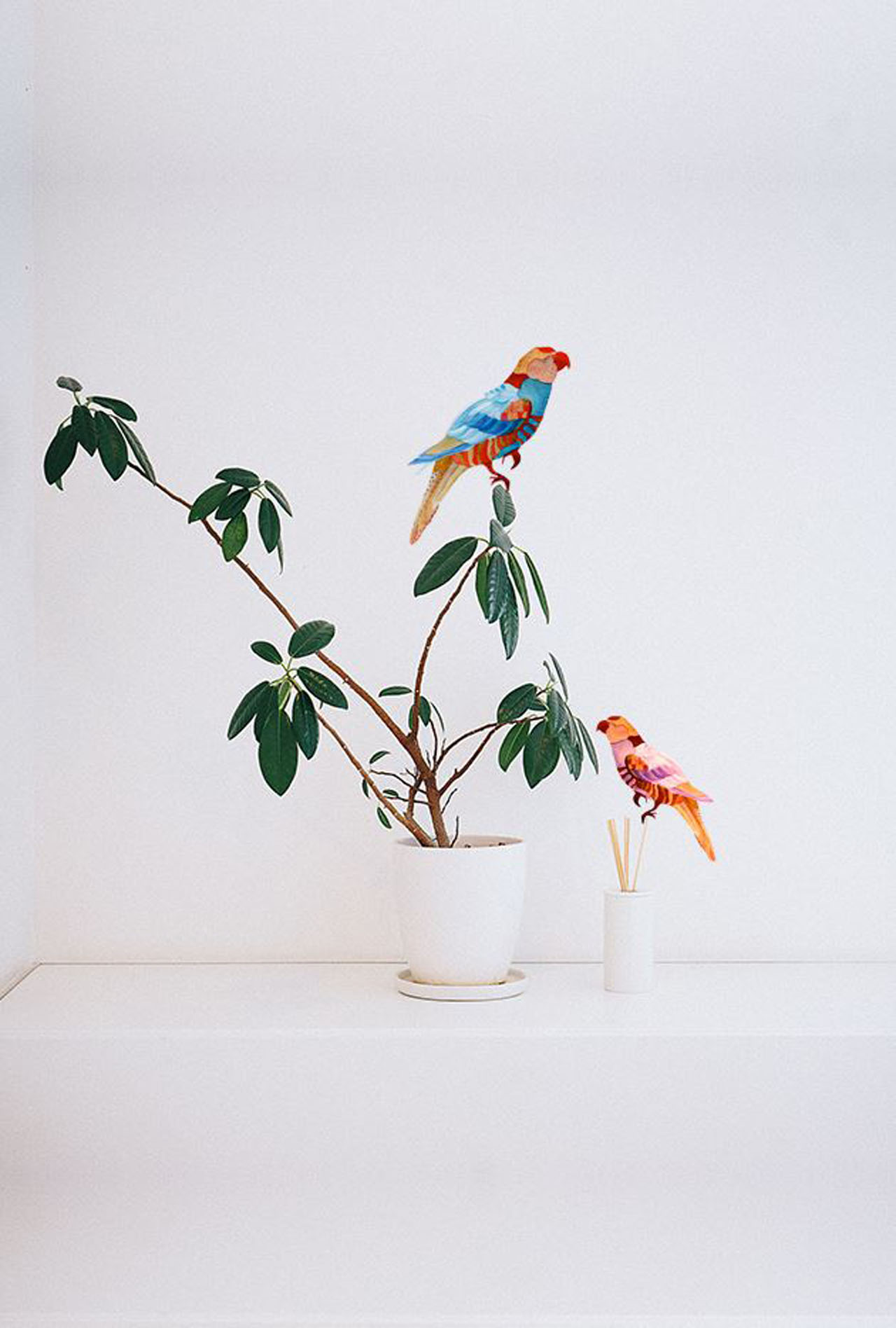Dress Tropical For Work Easy Wall Decals