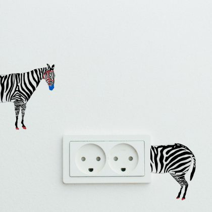 Monday Blues Easy Wall Decals