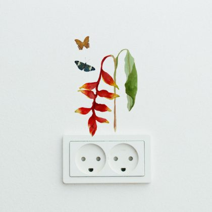 Music For Caterpillars Easy Wall Decals
