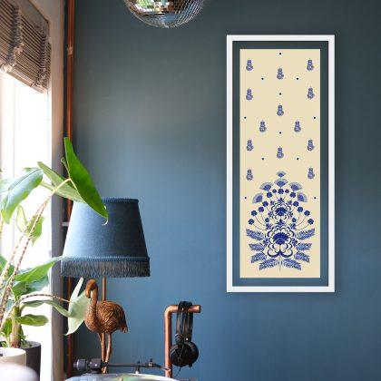 As Blue as Indigo Wall Art