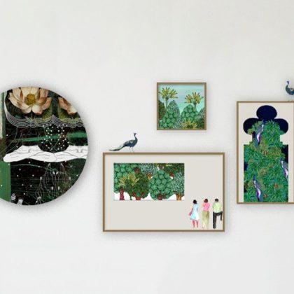 Calm Wall Art Set