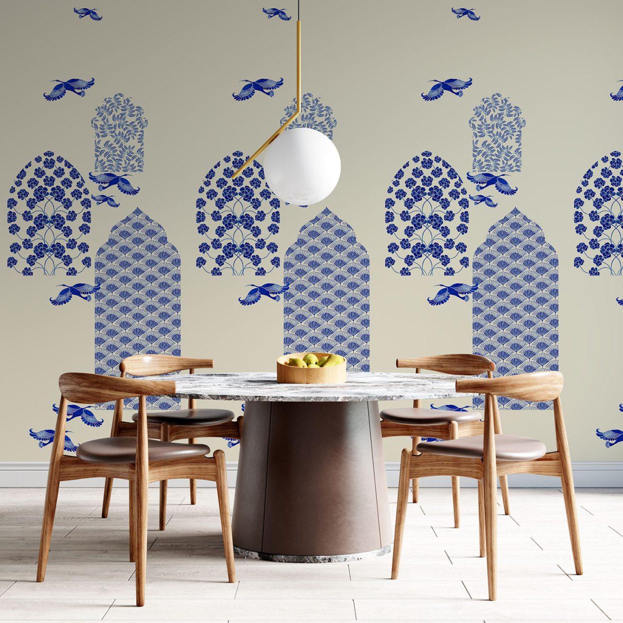 Indigo Wallpaper