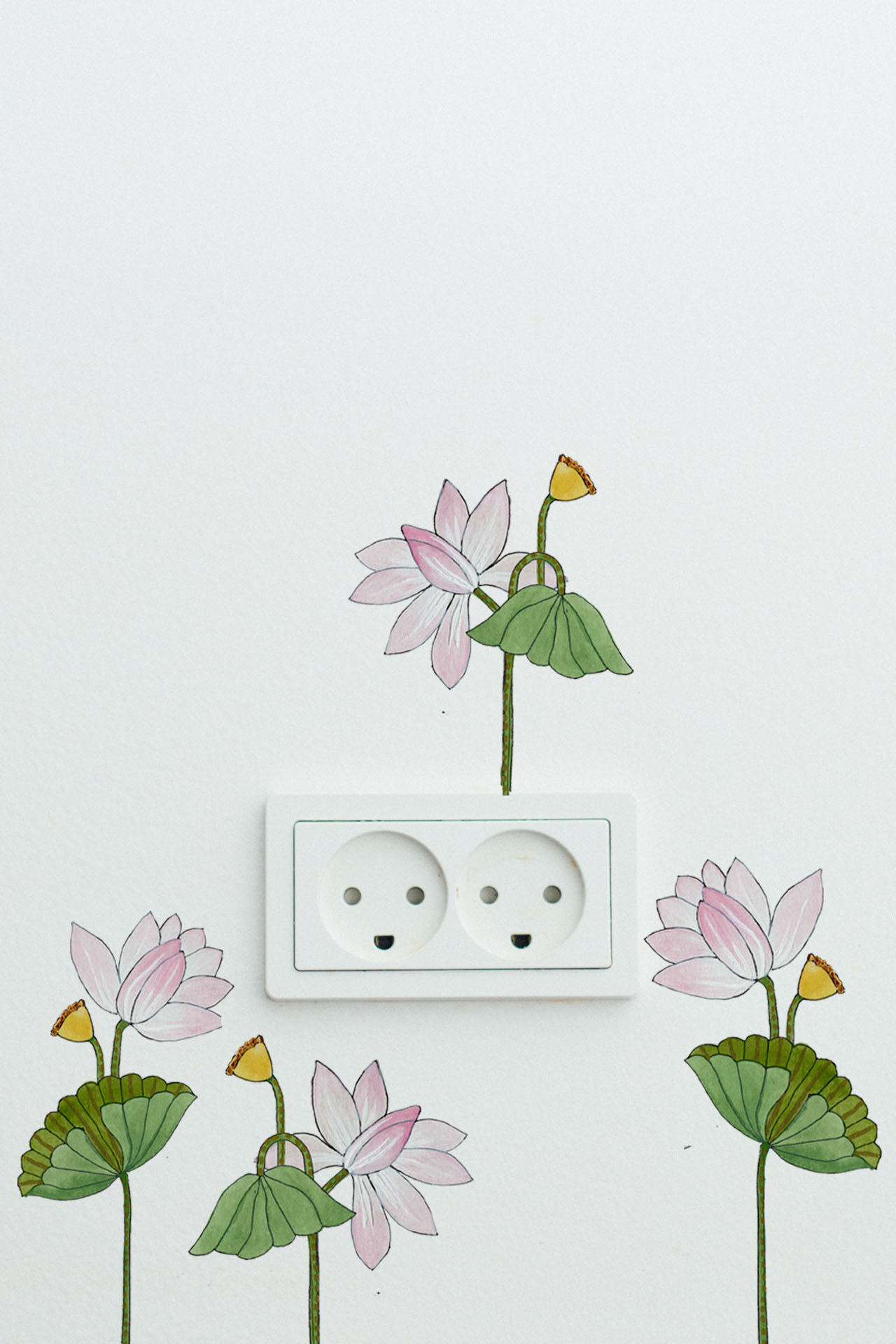The Pichwai Bloom Easy Decal Sets
