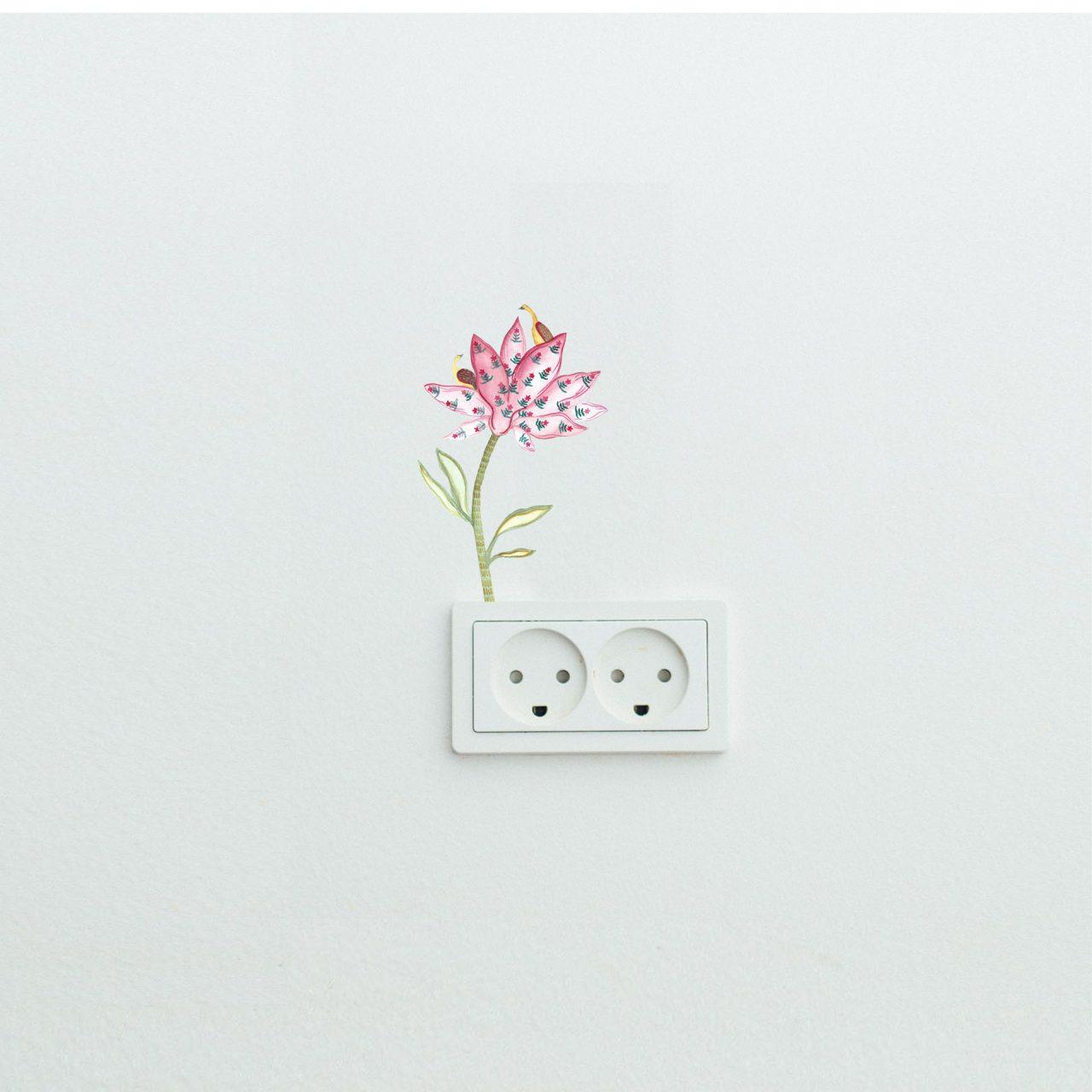 Wild Flower Decal